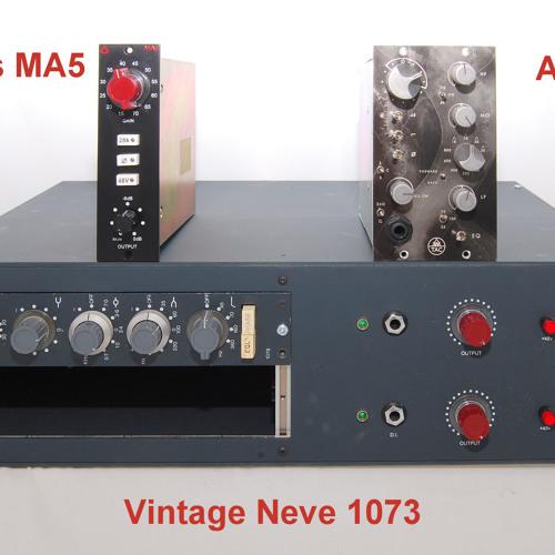 Test 5-2 Vintage Neve 1073, Avedis MA5, AWTAC Channel Amplifier_2C