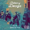 Salsa y Droga No. 36 - Salsa en Vivo: David Pabón, Tito Nieves, Maelo Ruiz, Héctor Lavoe. Portada del disco