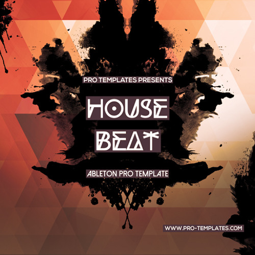 House Beat Ableton Pro Template