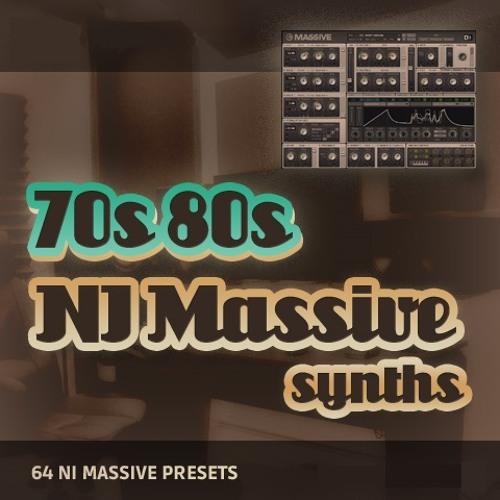 NI Massive - '70s and 80s Synths' Demo
