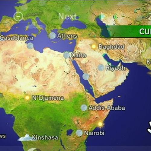 Wii Forecast Channel - Globe (Day)