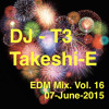 DJ T3 EDM Mix Vol 16