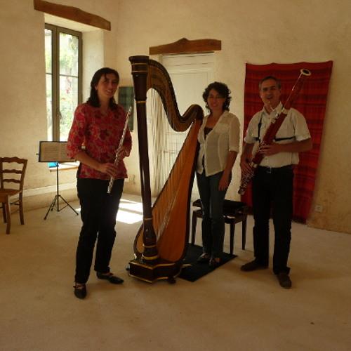 CD Extraits Commixtus Concordances - Musiques pour Flûte, Basson et Harpe