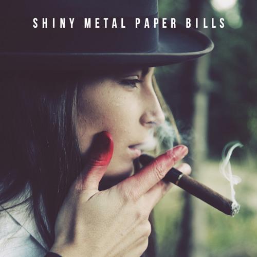 Shiny Metal Paper Bills