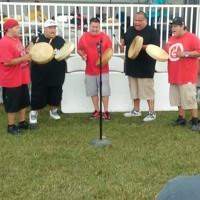 Midnite Express - Mayetta Hand Drum contest finals at Mayetta , Kansas