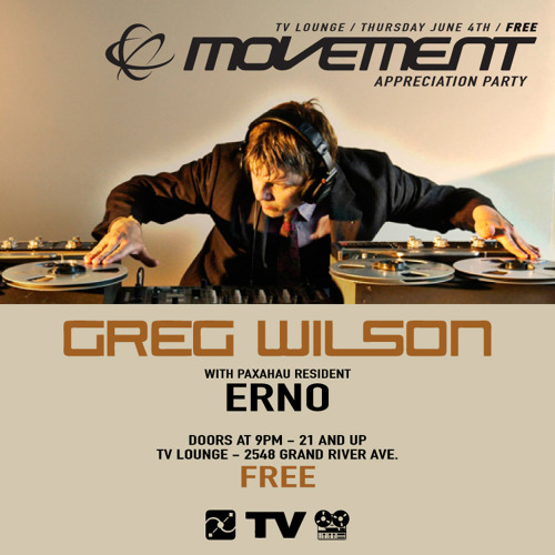ERNO - Live From the 2015 Movement Appreciation Party - TV Lounge