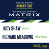 Lucy Shaw / Richard Meadows - Road to the 2015 Women's Tour With Matrix Pro Cycling