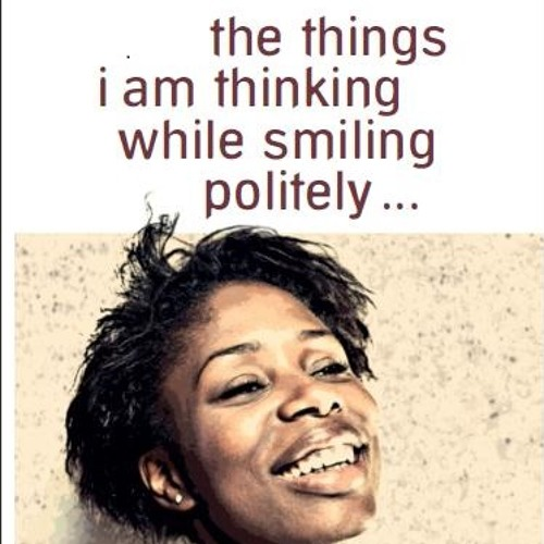 Lesung - the things i am thinking while smiling politely