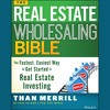 The Real Estate Wholesaling Bible, Written & Narrated by Than Merrill