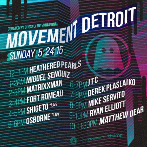 Miguel Senquiz Live @ Movement Detroit 2015