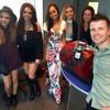 Little Mix with Steve & Karen