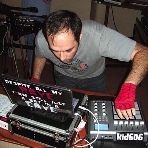 Kid606- In studio Live set for Krake festival Aug2012