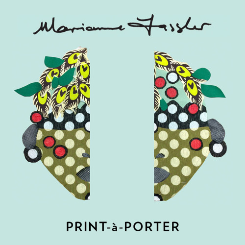 Marianne Fassler PRINT-a-PORTER collection, Paris,  2015