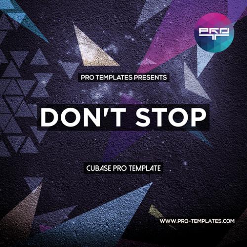 Don't Stop Cubase Pro Template
