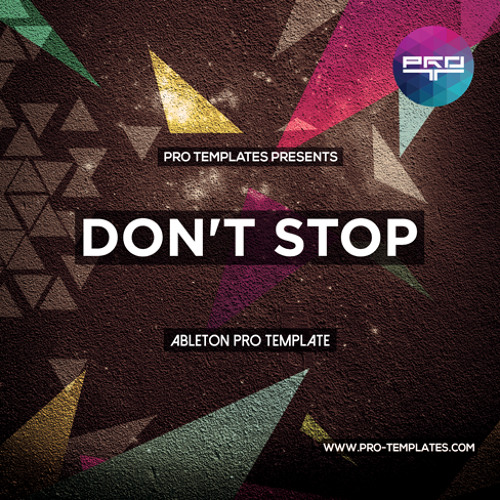 Don't Stop Ableton Pro Template