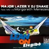 "Major Lazer X Dj Snake Ft MØ  X Margareth Menezes  ""Lean On Elegibô"" (Telefunksoul BahiaBass Edit)"