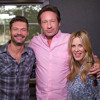 David Duchovny Talks Aquarius and Plays 'Text Files' With Ryan Seacrest