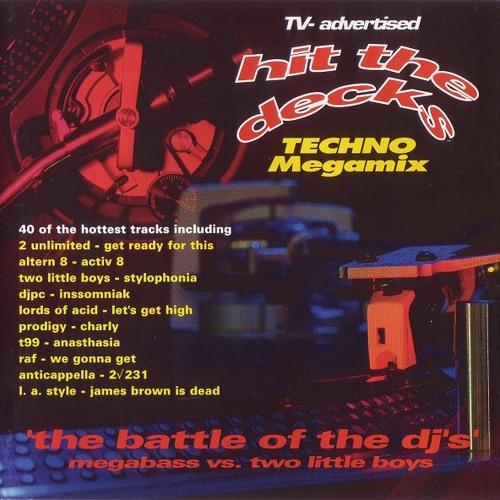 190 - Hit The Decks Vol  1 mixed by Megabass & Two Little