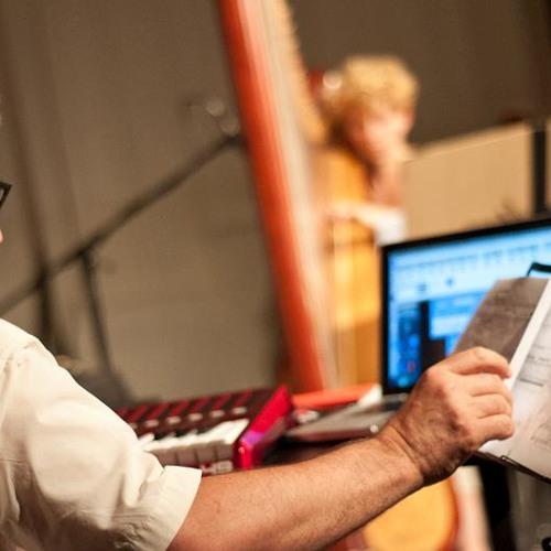 Richard Barrett - tendril for harp and electronics (2013)