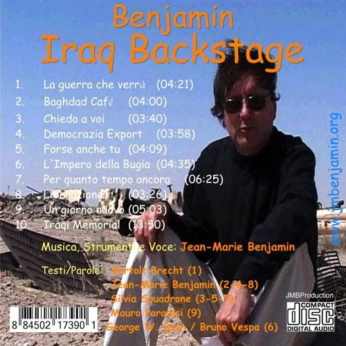 Iraqi backstage