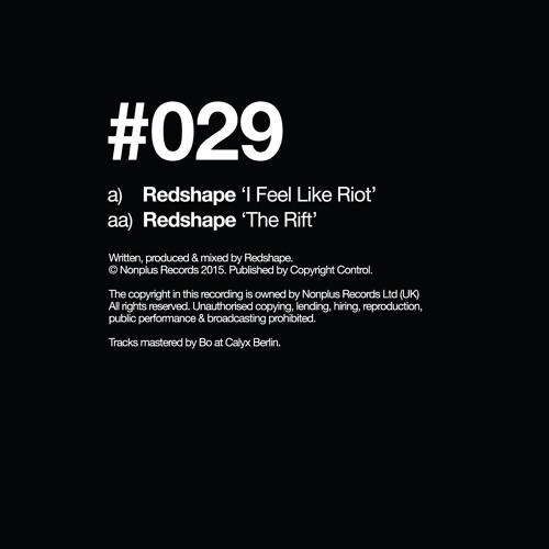 Redshape - I Feel Like Riot