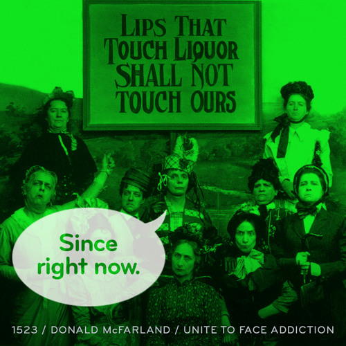 Episode 1523: Donald McFarland / Unite to Face Addiction