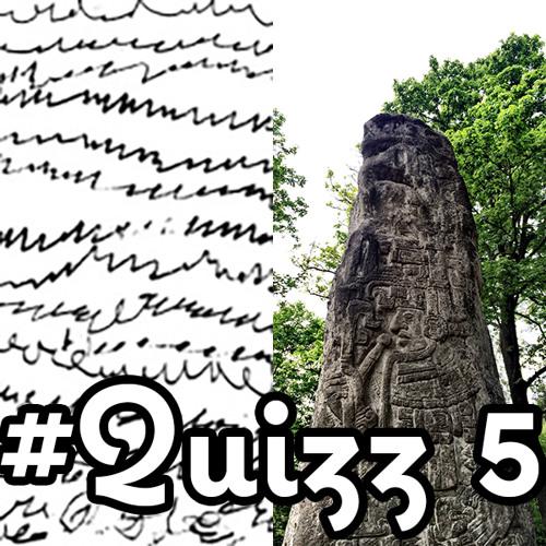 Anthropoquizz 5: une énigme en noir et blanc