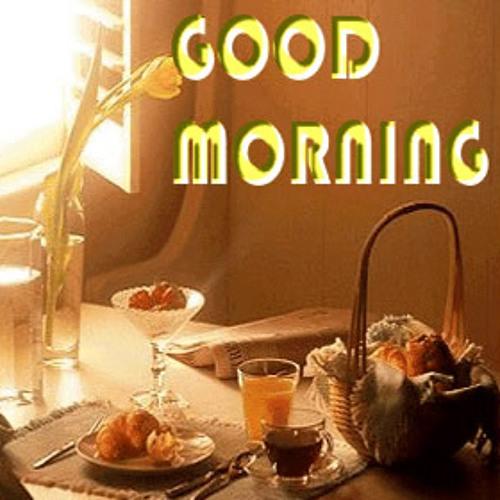 Буряты, гифка завтрак для любимого