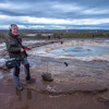 Little and Great Geysers at Geysir, Iceland