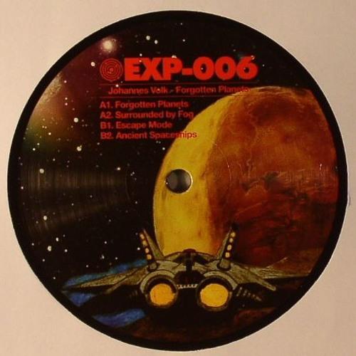 Johannes Volk - Forgotten Planets - EXP-006