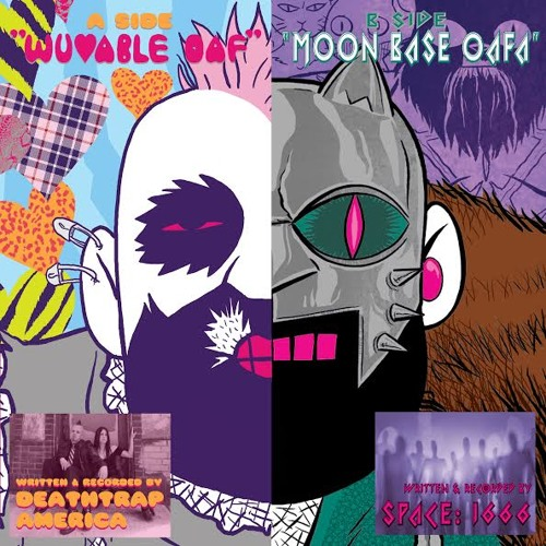 Wuvable Oaf - Oaf Hysteria cassette (2015)