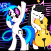 [PMV] Octavia And Vinyl Scratch Sound Of Love