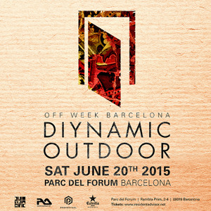 Solomun live @ Diynamic Outdoor, Parc del Forum - Barcelona (20.06.2015)