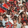 The Confederate flag phased out in TV, movies, music and sports