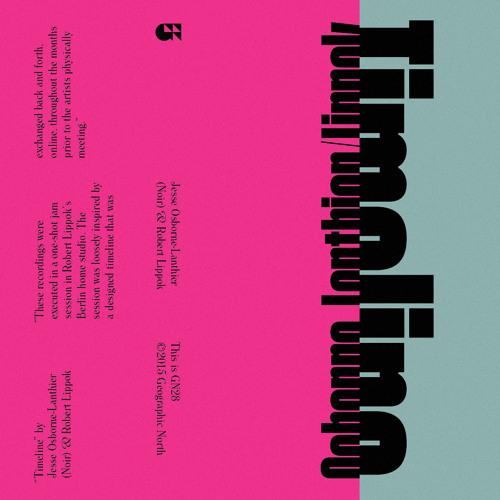 Jesse Osborne-Lanthier & Robert Lippok - Timeline