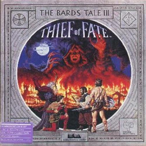 Bard's Tale 3 - Sanctuary Score - C64