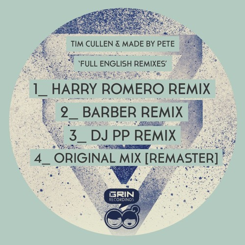 GNR053 - Tim Cullen & Made By Pete - Full English [Remixes]