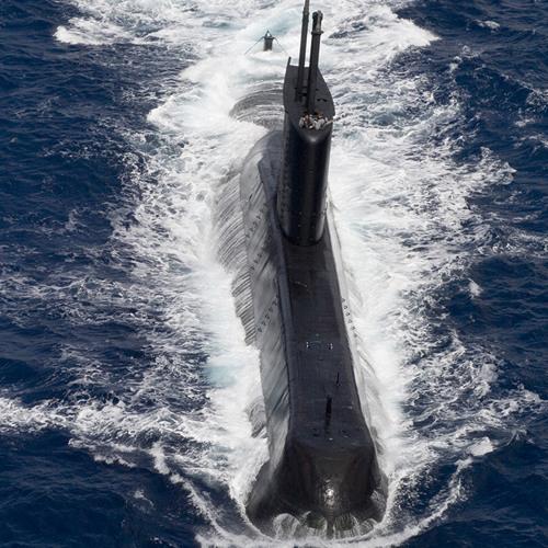 som de sonar de submarino