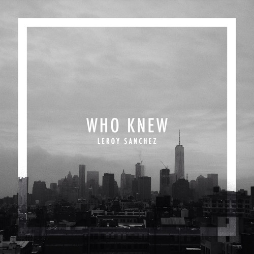 Baixar P!NK - Who Knew (Cover by Leroy Sanchez)