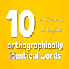 10 Orthographically Identical Words In Spanish And English