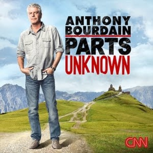 """AS HEARD IN ANTHONY BOURDAIN PARTS UNKNOWN """"Innovation"""""""
