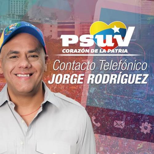 Contacto Telefónico Jorge Rodríguez en el programa Sin Coba