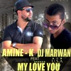 Amine K feat. Dj Marwan - My Love You ( Official Audio )