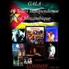 Festival de música moçambicana para festejar o 40° aniversário da independência