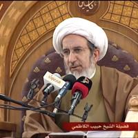اذكر عطش الامام الحسين ( ع ) عند الافطار - الشيخ حبيب الكاظمي
