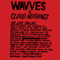 Wavves x Cloud Nothings No Life For Me Artwork