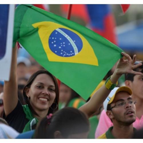 """Contagem regressiva para a JMJ 2016: brasileiros já """"invadiram"""" Cracóvia"""