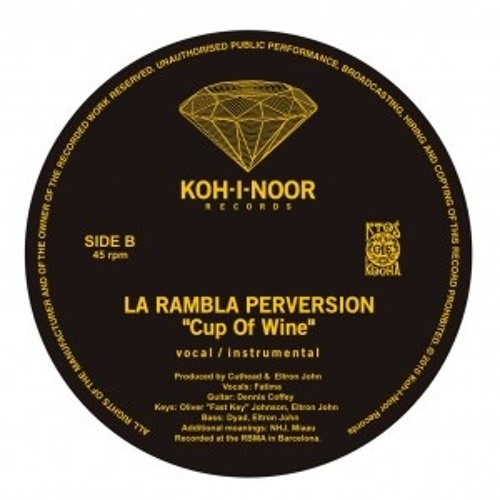 La Rambla Perversion - Cup Of Wine (instrumental)