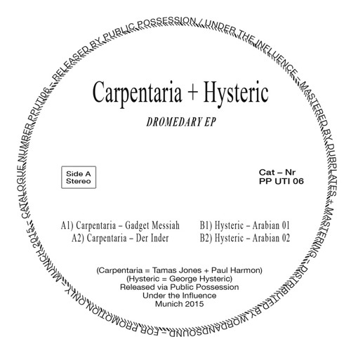 [PPUTI06] CARPENTARIA & HYSTERIC - Dromedary EP (snippets)