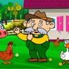 Dziadek Fajn- Farm- Mia- - Piosenki Dla Dzieci Old McDonald Po Polsku NOWO - -!!!